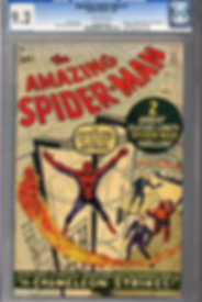Released in 1963 The Amazing Spider-man #1