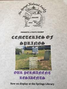 Ethel Cemetery Display flier.jpg