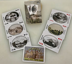 Springs Historical Society playing cards