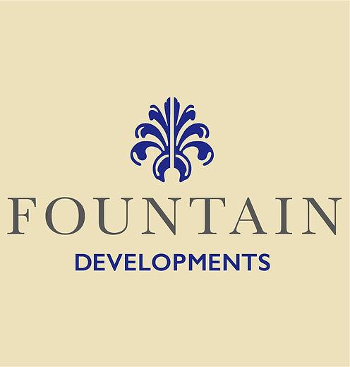 Fountain Development Logo Cream Backgrou