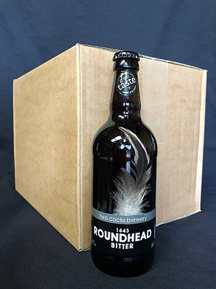 1643 Roundhead 4.3% ABV Bitter (Case)