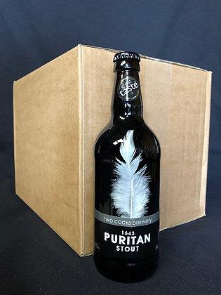 1643 Puritan 4.5% ABV Stout (Case)