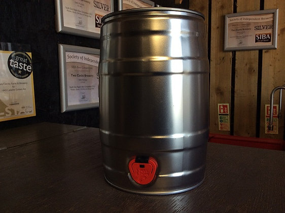 1643 Cavalier 3.8% ABV Golden Ale 5ltr Mini Keg