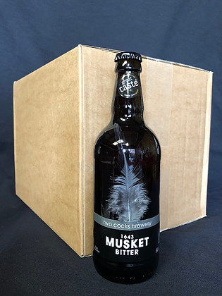 1643 Musket 3.8% ABV Bitter (Case)