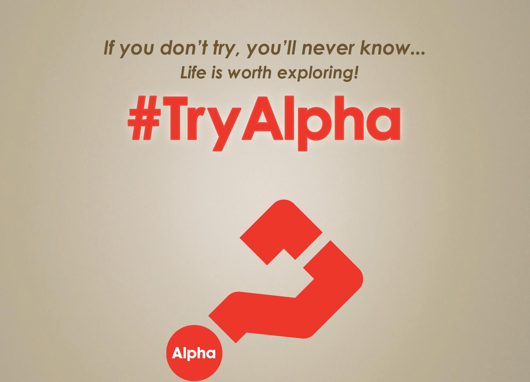 #TryAlpha
