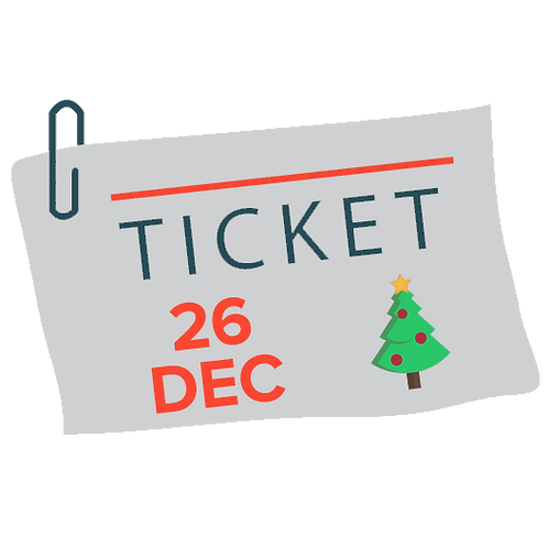 Christmas Ticket - 26 December 2015