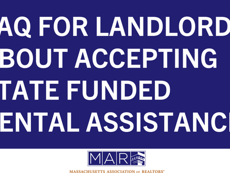 FAQ for Landlords about Accepting State Funded Rental Assistance