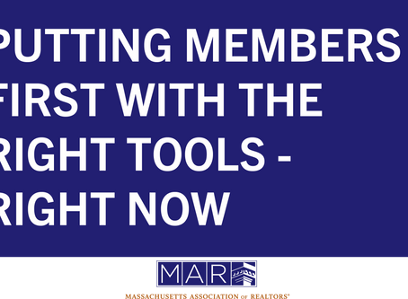 NAR Resource: Putting Members First with the Right Tools - Right Now
