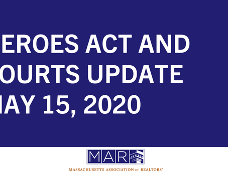HEROES Act and Courts Update: May 15, 2020