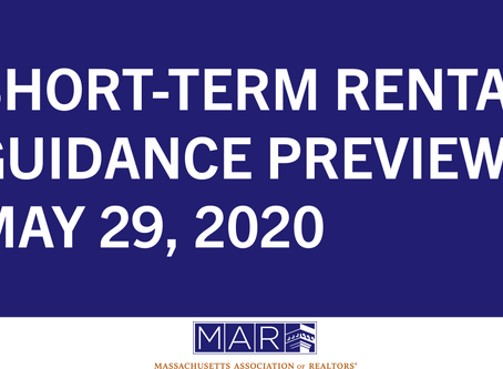 Short-Term Rental Guidance Preview
