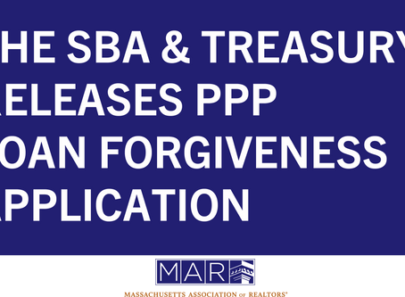 SBA, Treasury Release PPP Loan Forgiveness Application