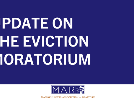 Update on the Eviction Moratorium