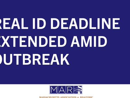 Real ID Deadline Extended Amid Outbreak