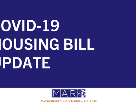 COVID-19 Housing Bill Update