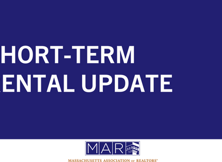 Short-Term Rental Update