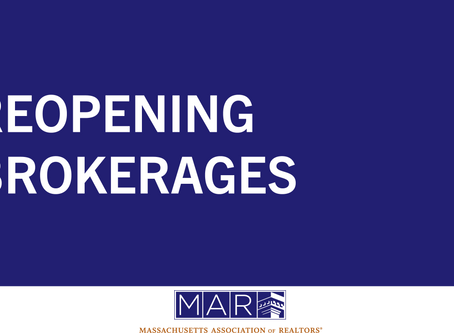 Reopening Brokerages