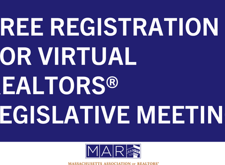 Free Registration For Virtual REALTORS® Legislative Meetings