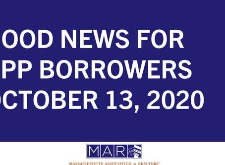 Good News for PPP Borrowers