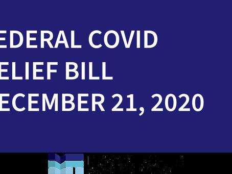 Federal COVID Relief Bill