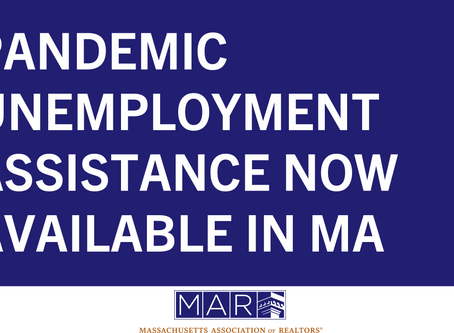 Pandemic Unemployment Assistance Now Available in MA