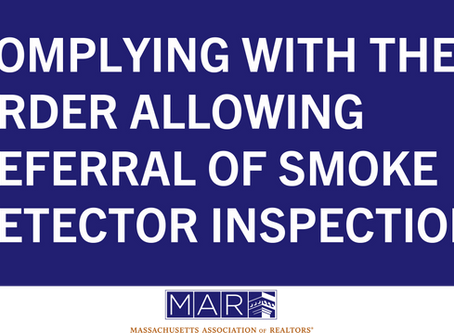 Complying with the Emergency Order Allowing the Deferral of Smoke Detector Inspections