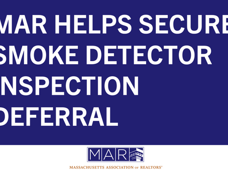 MAR Helps Secure Smoke Detector Inspection Deferral
