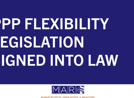 PPP Flexibility Legislation Signed Into Law
