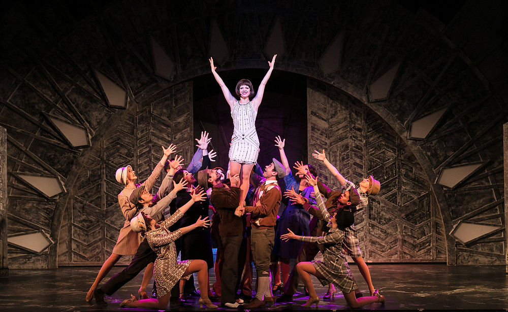 TMM - Joanne Clifton as Millie and Company (c) Darren Bell