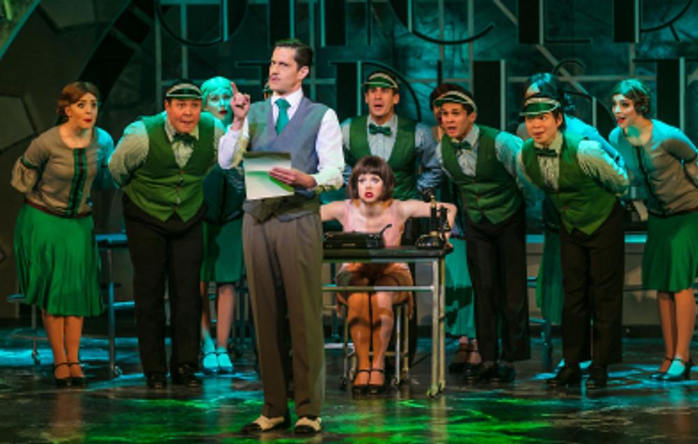 TMM - Graham MacDuff as Mr Trevor Graydon, Joanne Clifton as Millie and Company (c) Darren Bell
