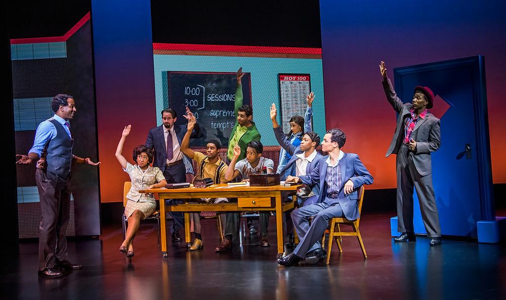 23. motown the musical. the company. photo tristram kenton