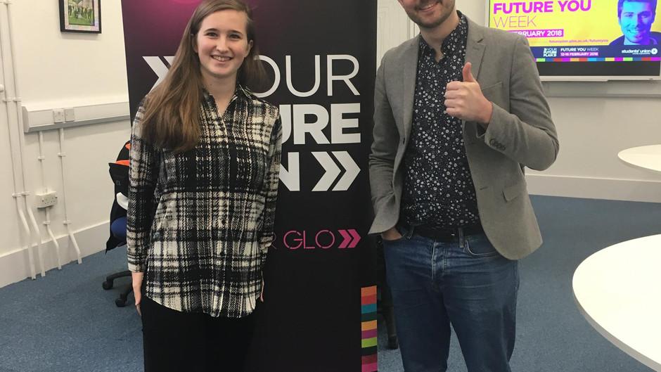 Interview with Fraser Doherty – UoGlos FutureYou Week