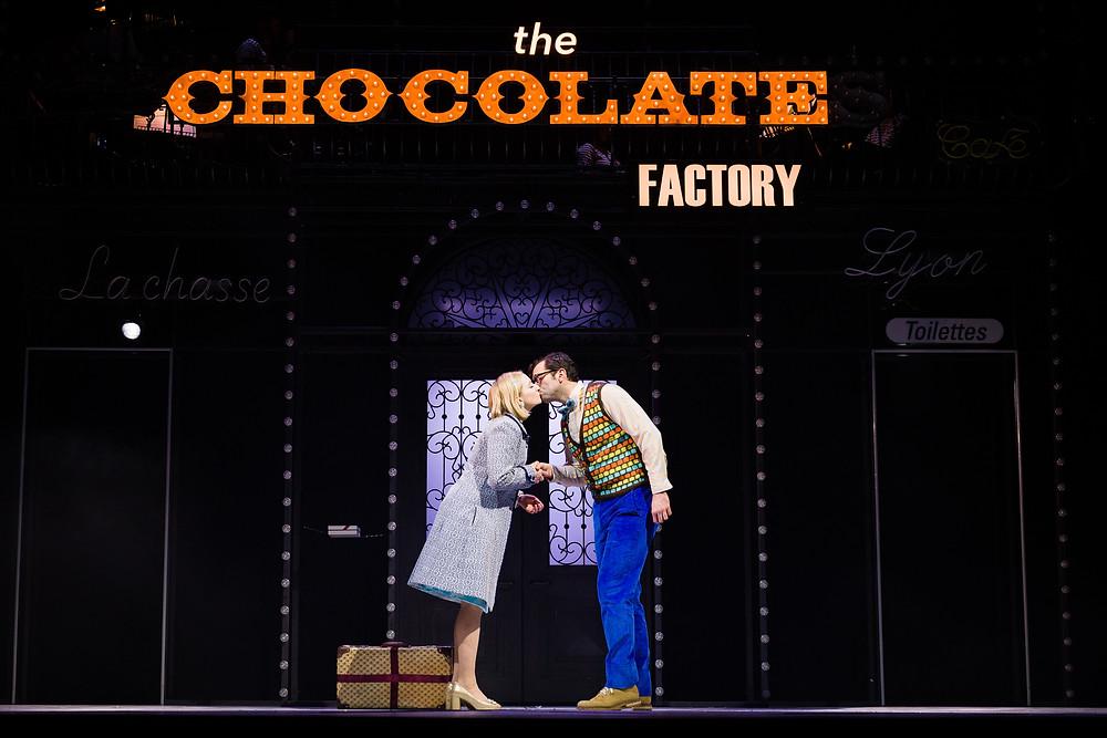 Romantics Anonymous production photos