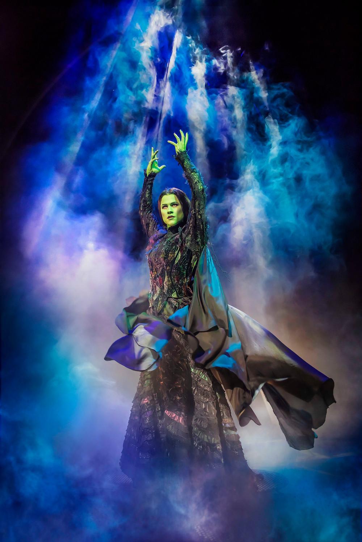 Amy Ross as Elphaba in WICKED UK & Ireland Tour. Photo Credit Matt Crockett (4)