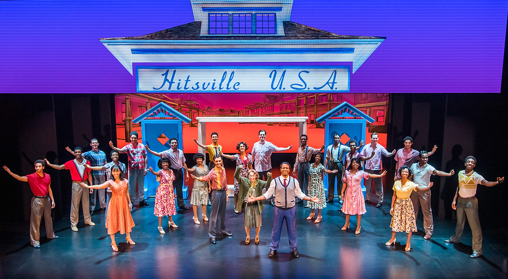 9. motown the musical. the company. photo tristram kenton