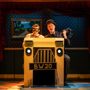 Jeeves and Wooster in Perfect Nonsense – The Theatre, Chipping Norton REVIEW