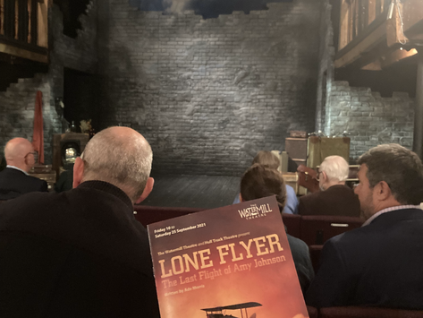 Lone Flyer - The Watermill Theatre, Newbury REVIEW