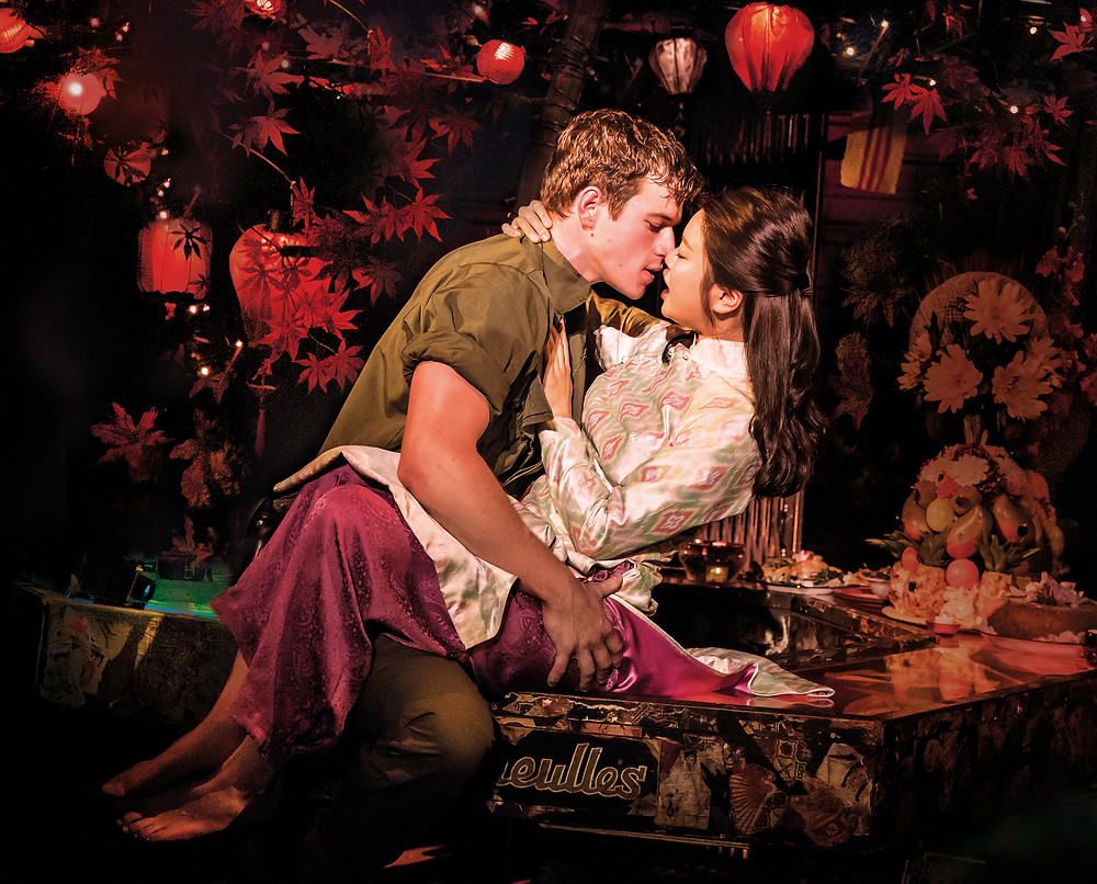 MISS SAIGON. Ashley Gilmour 'Chris' and Sooha Kim 'Kim'. Photo Johan Persson.jpg
