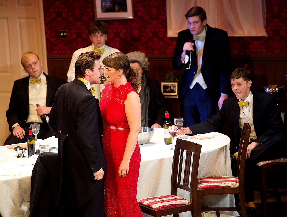 POSH - Joseph Tyler Todd, Adam Mirsky, Taylor Mee, Tyger Drew-Honey, Ellie Nunn, Jack Whittle in Posh - Credit PhotoTech