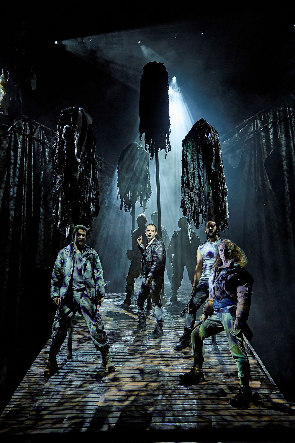 Macbeth - NT - The cast of the UK and Ireland tour of Macbeth - Credit BrinkhoffMogenburg