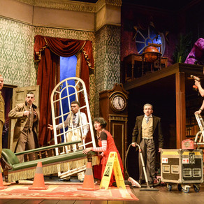The Play That Goes Wrong - Covid-19 edition - Theatre Royal Bath REVIEW