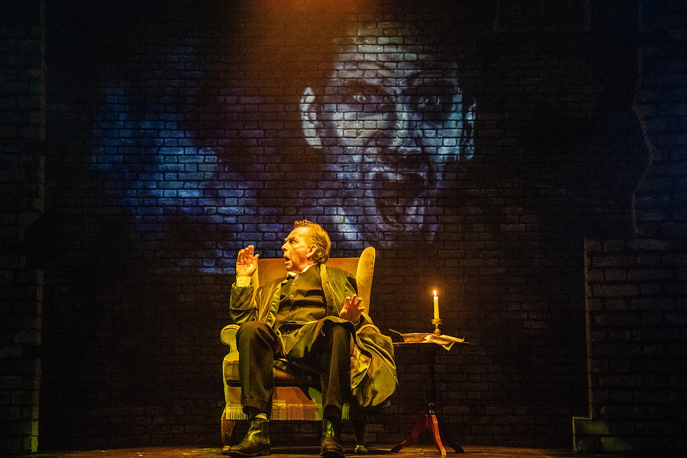 Patrick Ryecart (Ebenezer Scrooge), Photo Credit_ Evoke Pictures