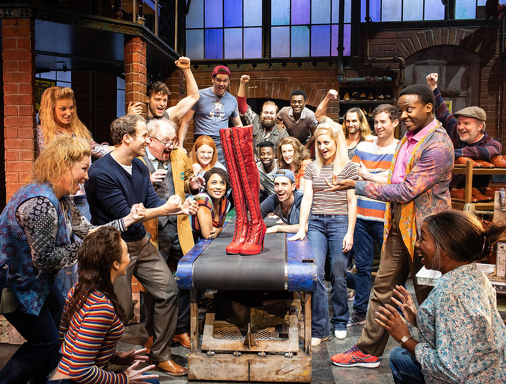 Kinky Boots cast_Photo Helen Maybanks