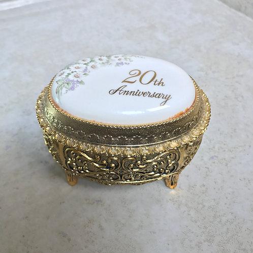 20th Anniversary Plush Jewelry Box