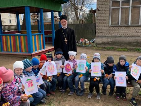 Посещение детского сада с. Борисово