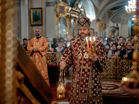 Пасхальное приветствие епископа Одинцовского ФОМЫ