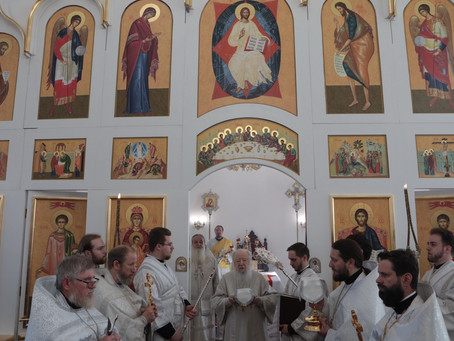 Служба с митрополитом