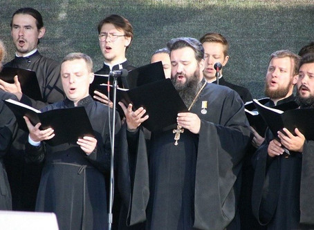 Благотворительный гала‑концерт прошел на Соборной площади в Можайске