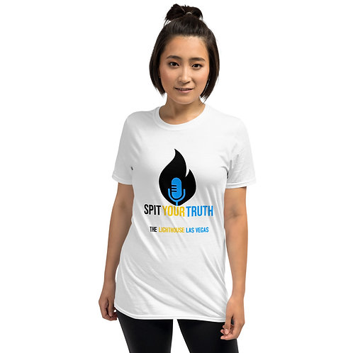 Spit Your Truth - Short-Sleeve Unisex T-Shirt