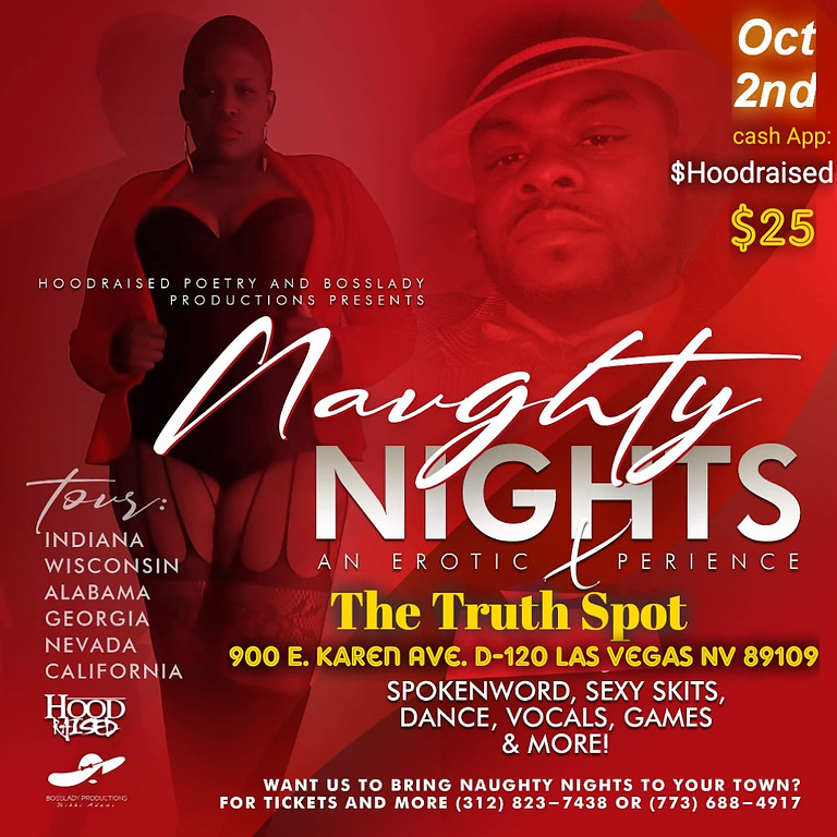 Naughty Nights... An Erotic Poetry Experience