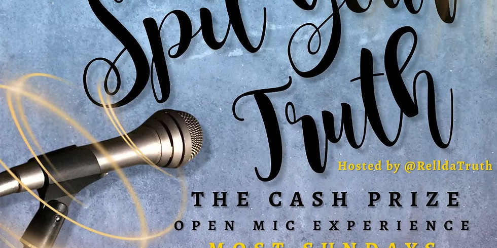 Spit Your Truth Open Mic Night (Acapella)